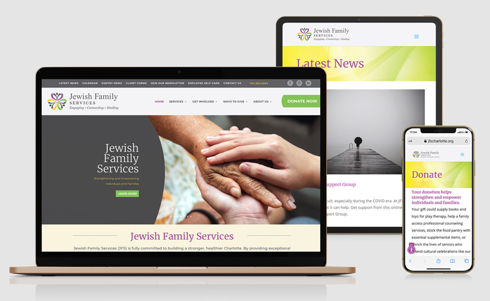 Jewish Family Services – Website